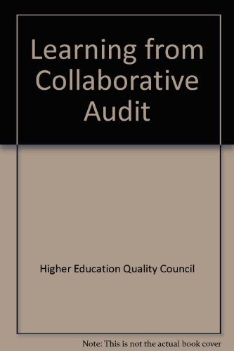 Learning from Collaborative Audit : An Interim Report