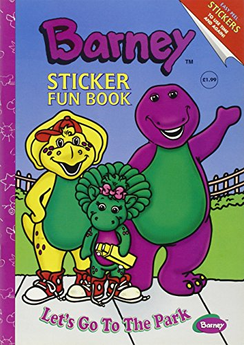 9781858306773: Barney Sticker Fun Book: Let's Go to the Park