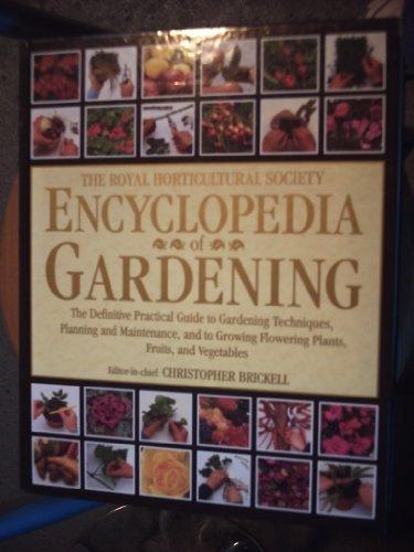 9781858335797: The Royal Horticultural Society Encyclopedia Of Gardening