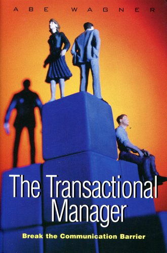 9781858354217: The Transactional Manager - How to solve people problems with Transactional Analysis