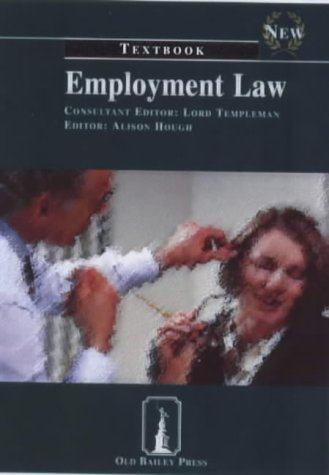 9781858362892: Employment Law Textbook (Old Bailey Press Textbooks)