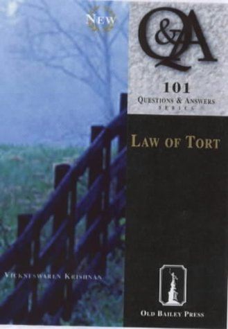 9781858363608: Law of Tort (101 Questions & Answers)