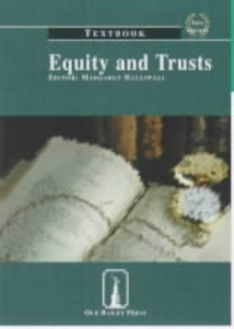 9781858363639: Equity and Trusts: Textbook (Old Bailey Press Textbooks)