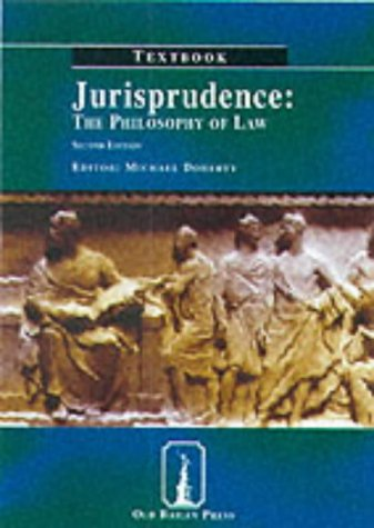 9781858364094: Jurisprudence Textbook: The Philosophy of Law (Old Bailey Press Textbooks S.)