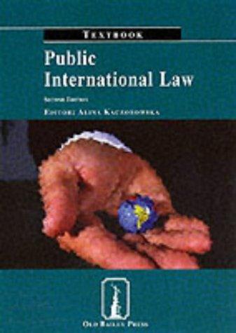 9781858364162: Public International Law Textbook (Old Bailey Press Textbooks)