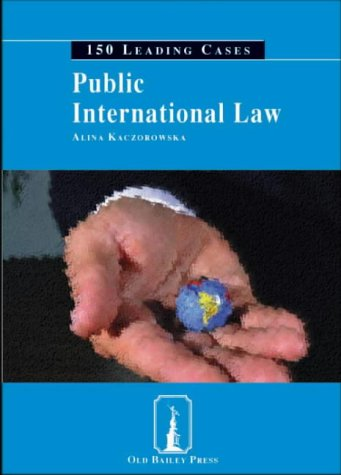 9781858364223: Public International Law: 150 Leading Cases