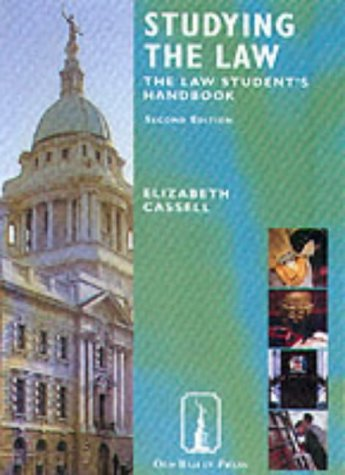 9781858364315: Studying the Law Textbook: The Law Student's Handbook