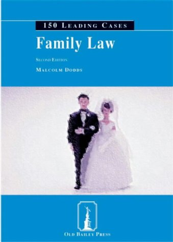 9781858364551: Family Law: 150 Leading Cases