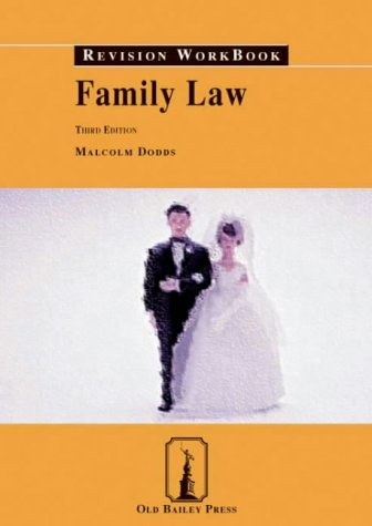 9781858364643: Family Law Revision Workbook (Old Bailey Press Revision Workbook)