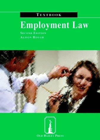 9781858364933: Employment Law Textbook