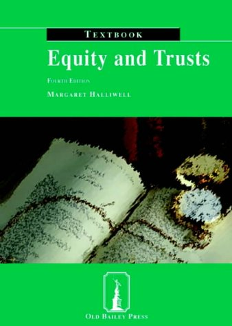 9781858364957: Equity and Trusts Textbook: Textbook (Old Bailey Press Textbooks)