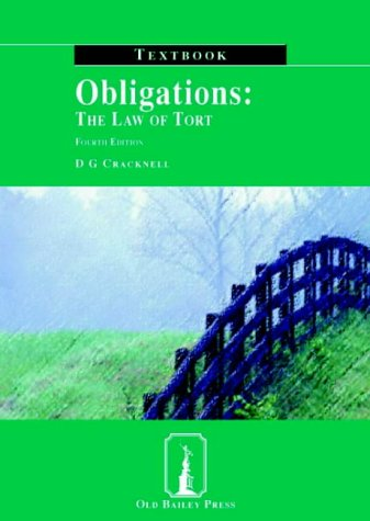 9781858365039: Obligations: The Law of Tort Textbook (Old Bailey Press Textbooks S.)