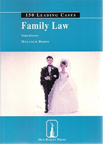 9781858365367: Family Law (150 leading cases)