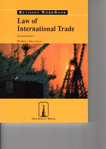 9781858365558: Law of International Trade (Revision workbook)