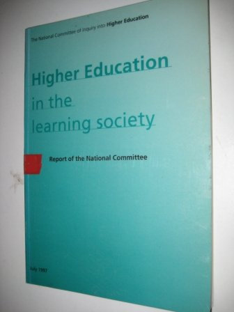9781858382548: Report of the National Committee into Higher Education