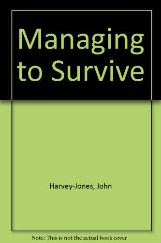9781858498003: Managing to Survive