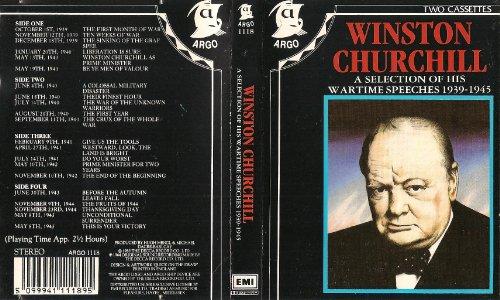 9781858498300: Winston Churchill: Wartime Speeches, 1939-1945
