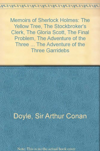 9781858498775: Memoirs of Sherlock Holmes