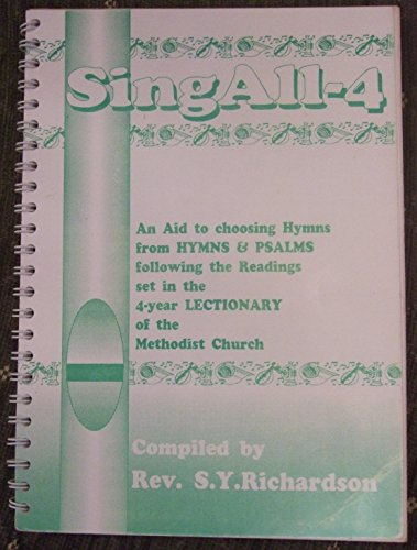 SingAll-4: An aid to choosing Hymns &