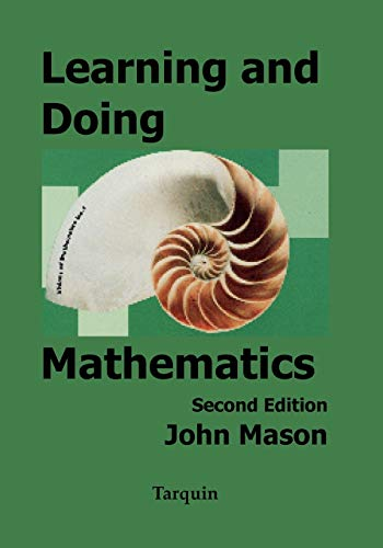 9781858530499: Learning and Doing Mathematics (Visions of Mathematics)