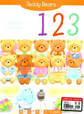 Teddy Bears: 123 (1858540925) by Ricketts, Ann; Ricketts, Michael