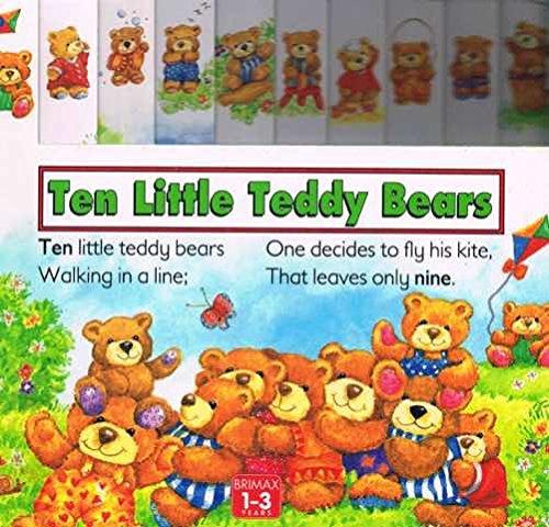 9781858542096: Ten Little Teddy Bears (Board Counting Books Series)