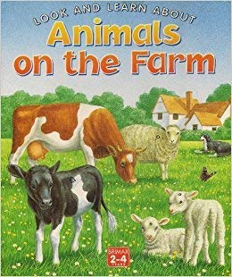 9781858544427: Animals on the Farm (Look & Learn About)