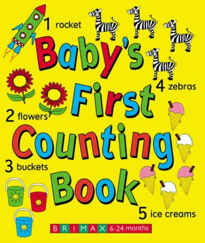 9781858546162: Baby's First Counting Book