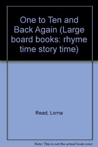 One to Ten and Back Again: Lorna Read; Jenny