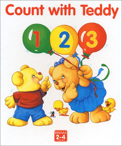 Count with Teddy 123 (Learn with Teddy): Rogers, Marjorie