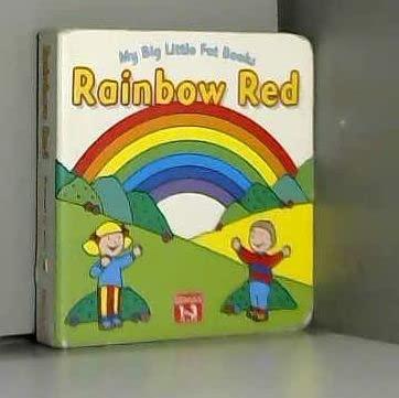 Rainbow Red (My Big Little Fat Books): Jenny Tulip