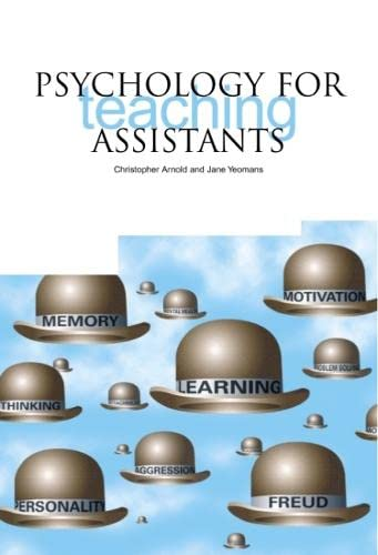 9781858563091: Psychology for Teaching Assistants