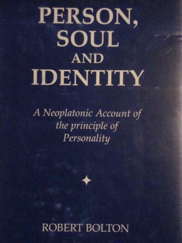 9781858631011: Person, Soul and Identity