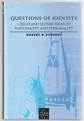9781858660059: Questions of Identity: Czech and Slovak Ideas of Nationality and Personality