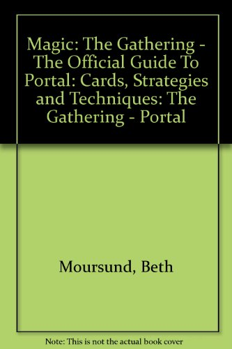 9781858683751: Magic: The Gathering: The Official Guide to Portal