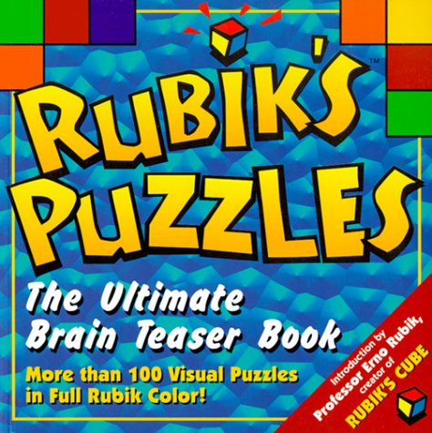 Rubiks Puzzles: Ultimate Brain Teasers Book: Fiore, Albie