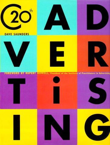 20th Century Advertising: Carlton Books; Saunders, Dave