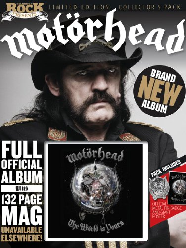 9781858703787: Motorhead - The World Is Yours (Classic Rock Presentation Pack)