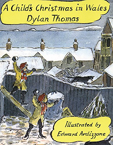 9781858810119: A Child's Christmas In Wales: Mini Illustrated Edition