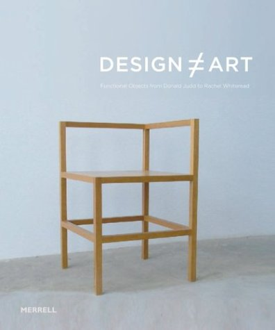 9781858942667: Design Art: Functional Objects from Donald Judd to Rachel Whiteread