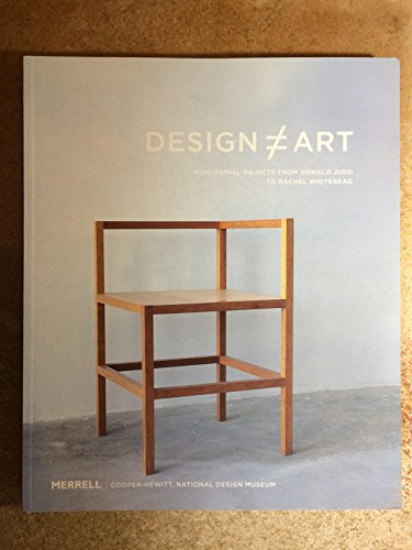 9781858942674: Design Art: Functional Objects from Donald Judd to Rachel Whiteread