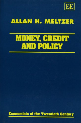 9781858982083: Money, Credit and Policy (Economists of the Twentieth Century)