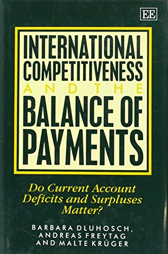 International Competitiveness and the Balance of Payments: Do Current Account Deficits and ...