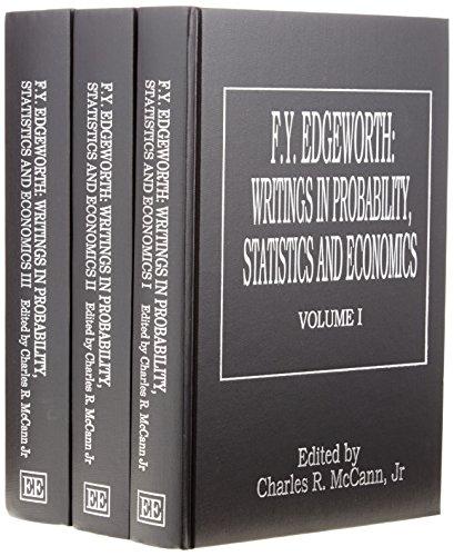 F.Y. Edgeworth: Edgeworth, Francis Y./ McCann, Charles R.