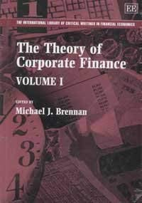 The Theory of Corporate Finance (Hardback)