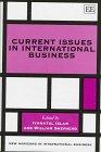 Current Issues in International Business: Islam, Iyanatul (EDT)/ Shepherd, William (EDT)