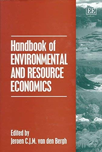 9781858983752: Handbook of Environmental and Resource Economics