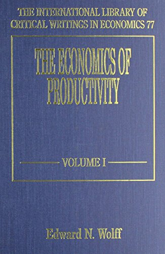 9781858984209: The Economics of Productivity (International Library of Critical Writings in Economics)