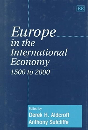 9781858986708: Europe in the International Economy 1500 to 2000
