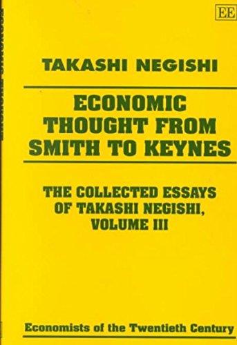 Economic Thought from Smith to Keynes: Negishi, Takashi
